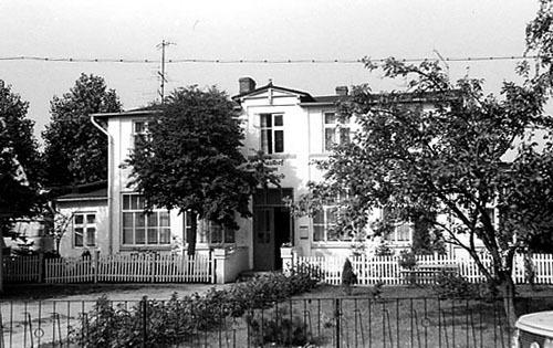 Bild 1. Hotel zum Walfisch. August 1978