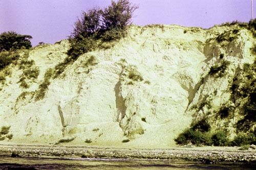 Bild 3. Aktives Kliff um 1988