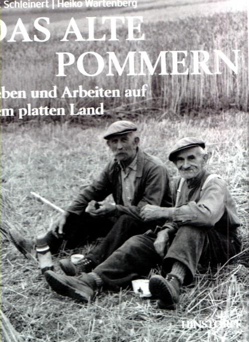 """Titelblatt des Buches """"Das alte Pommern"""" von Schleinert und Wartenberg 1995."""
