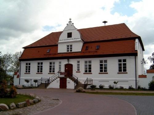 Groß Schoritz. Herrenhaus 2005.  Hier wurde Ernst Moritz Arndt am 26. Dezember 1769 geboren.