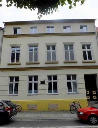 Greifswald. Wohnhaus des Mediziners Theodor Billroth von 1836 bis 1849 in der Domstraße  2013