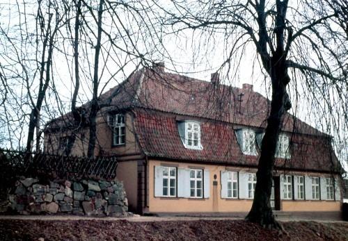 Bergen auf Rügen. Geburtshaus des Mediziners Theodor Billroth in der Billrothstraße 1967