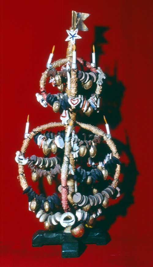 Sogenanter Bügelbaum, Weihnachtsschmuck der Seeleute