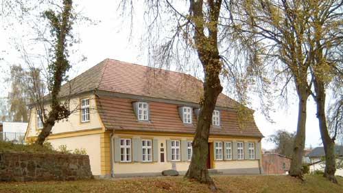 Geburtshaus von Theodor Billroth in Bergen 2008