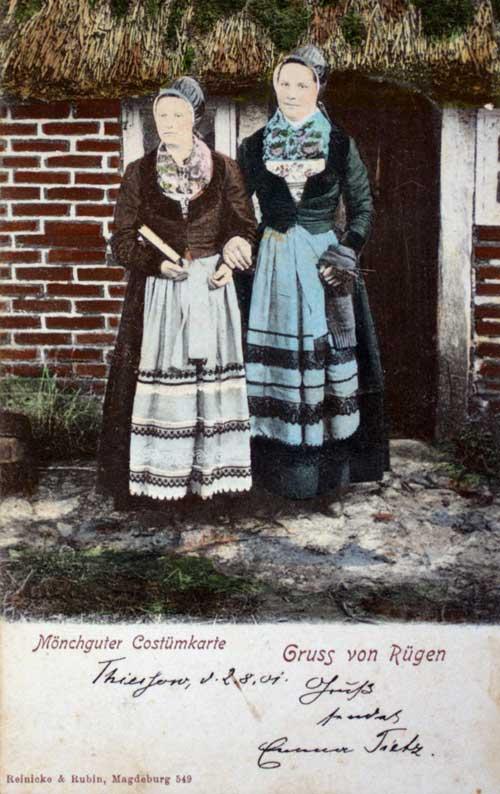 Historische Postkarte, 1901