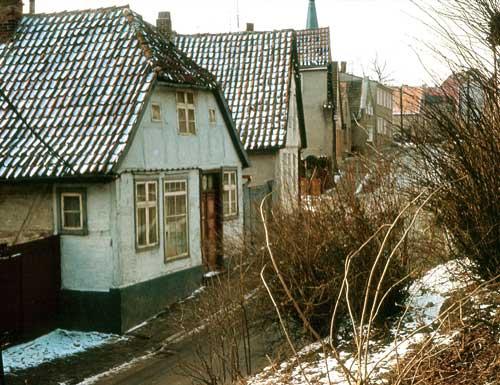 Königstrasse in Bergen 1974