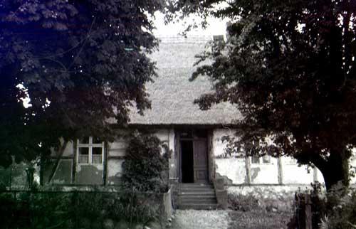 Altes Schulhaus Middelhagen 1972