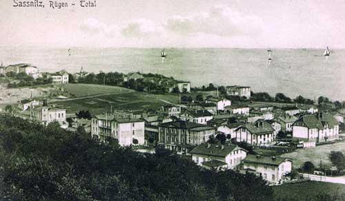 Sassnitz, historische Aufnahme 1911