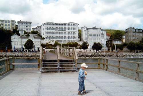 Sassnitz, Seebrücke 2008