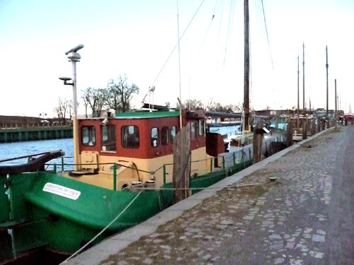 Bild 3. Der heutige historische Hafen von Greifswald am Ryck. 2009