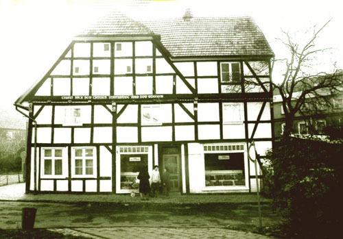 Bild  6. Bergen. Markt. Das Benedix-Haus. 1984