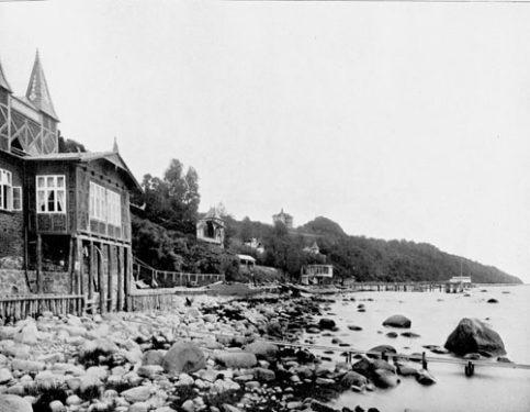 Bild-2.-Lohme-Hafen-Album-von-Rügen-1906-Großfoto