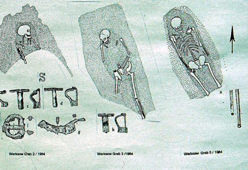 Abb. 13. Warksow. Gräbergruppe des 2. Jahrhunderts
