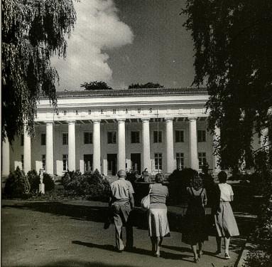 Abb. 1. Goor. Das 1818 errichtete Badehaus (nach Ewe, Rügen, 1986, S. 49)