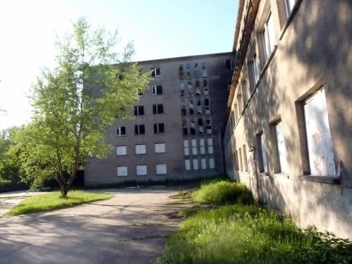 Abb. 3. Prora. Blick auf einen der Blöcke im Jahre 2010. Aufnahme A. Leube