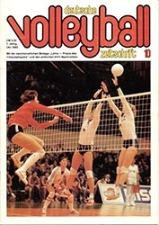Abb. 5.  Die DDR-Volleyballmannschaft wurde 1983 Europameister Zeitreise_1983_05_Titel