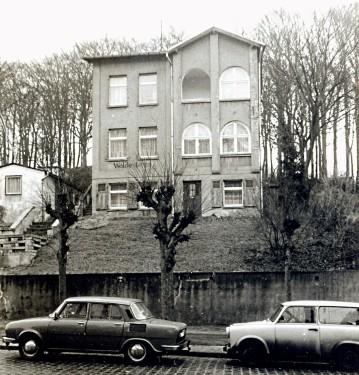 Abb. 7. Sellin. Haus Waldeslust um 1957. Aufnahme Kurt Leube, Bergen