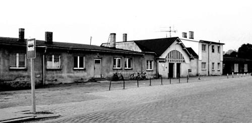 Abb. 9. Binz. Der Kleinbahnhof 1977. Aufnahme Kurt Leube, Bergen.